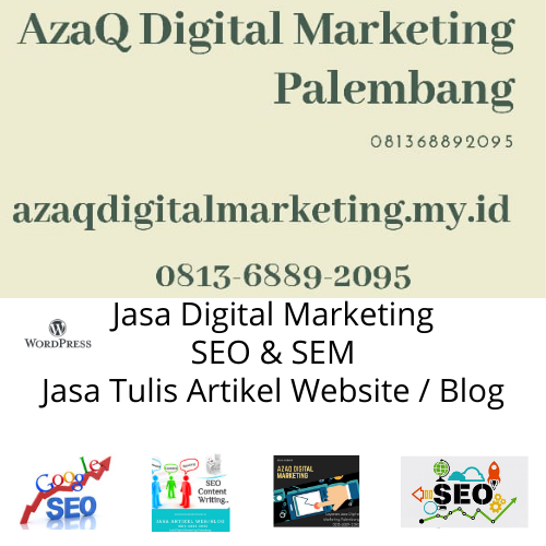 AzaQ Digital Marketing Palembang